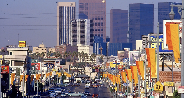 Village - LA Olympics 1984 - Street
