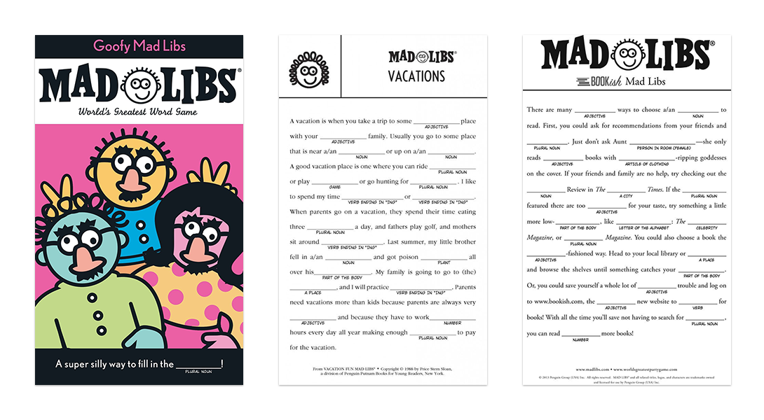 mad libs examples 2