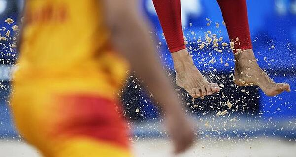 sand at the olympics
