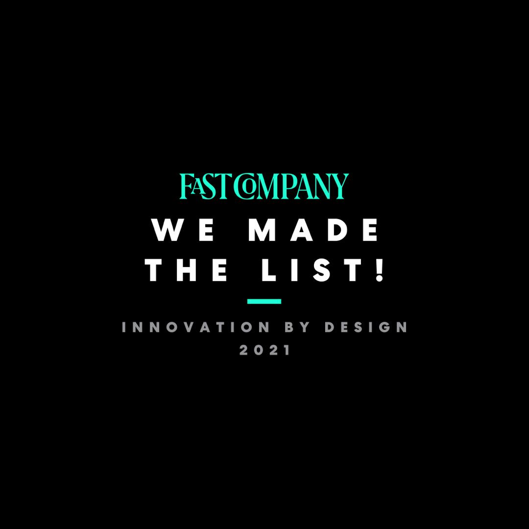 TeakOrigin, a Finalist in Fast Company's Innovation by Design Awards
